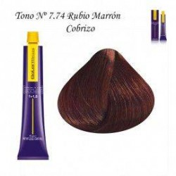 Tinte Salerm Visón 7,74 Rubio Marrón Cobrizo 75ml