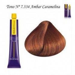 Tinte Salerm Visón 7,334 Rubio Ambar Caramelo 75ml