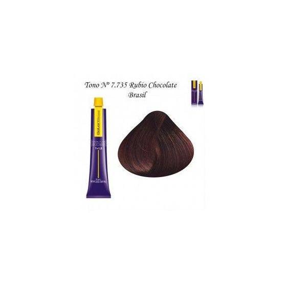 Tinte Salerm Visón 7,735 Rubio Chocolate Brasil 75ml