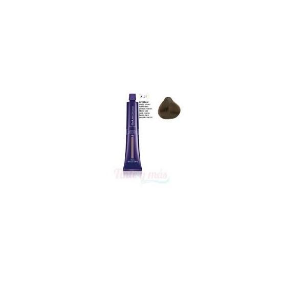Tinte Salerm Visón 8,27 Rubio Claro Perlado Marrón 75 ml