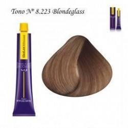 Tinte Salerm Visón 8,223 Blonde Glass 75ml