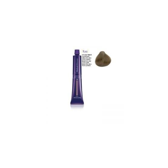 Tinte Salerm Visón 9,02 Rubio Extra Claro Neutro Perlado 75ml