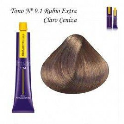 Tinte Salerm Visón 9,1 Rubio Extra Claro Ceniza 75ml