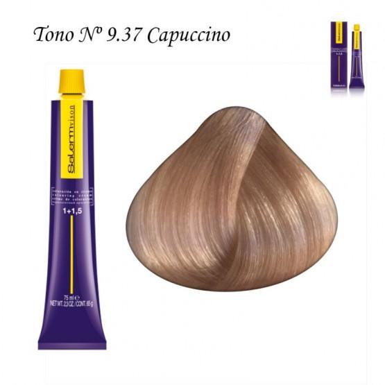 Tinte Salerm Visón 9,37 Rubio Extra Claro Capuccino 75ml