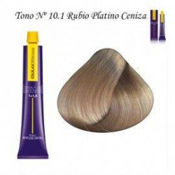 Tinte Salerm Visón 10,1 rubio Platino Ceniza 75ml