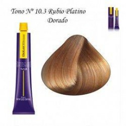 Tinte Salerm Visón 10,3 rubio Platino Dorado 75ml