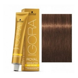 Tinte IGORA ROYAL ABSOLUTES age blend 6-460 Rubio Oscuro Beige Chocolate 60ml