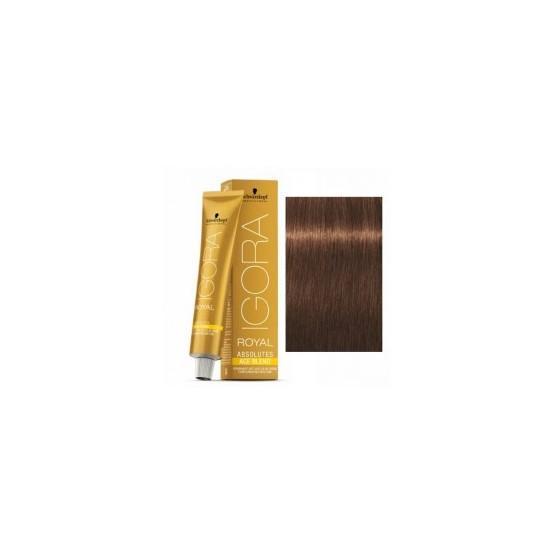 Tinte IGORA ROYAL ABSOLUTES age blend 6-460 Rubio Oscuro Beige Chocolate 60ml