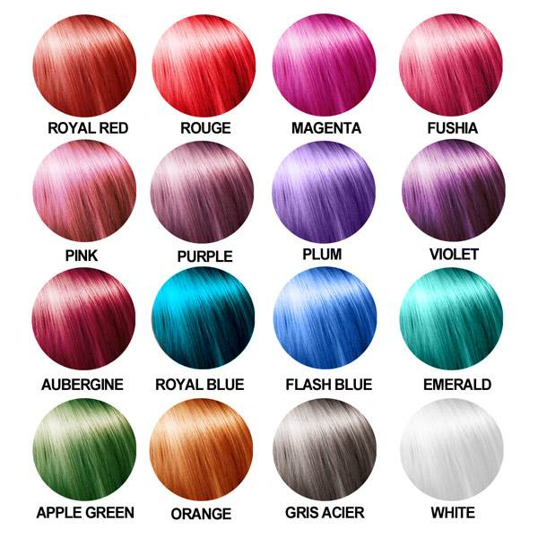 CARTA DE COLOR POP COLOR hairgum