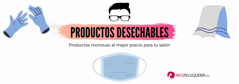 PRODUCTOS DESECHABLES PELUQUERÍA